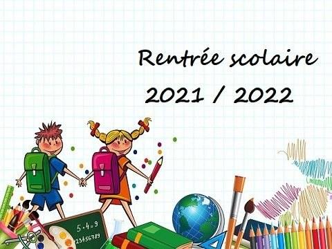Inscriptions pour la rentrée scolaire 2021/2022 à partir du 14 juin