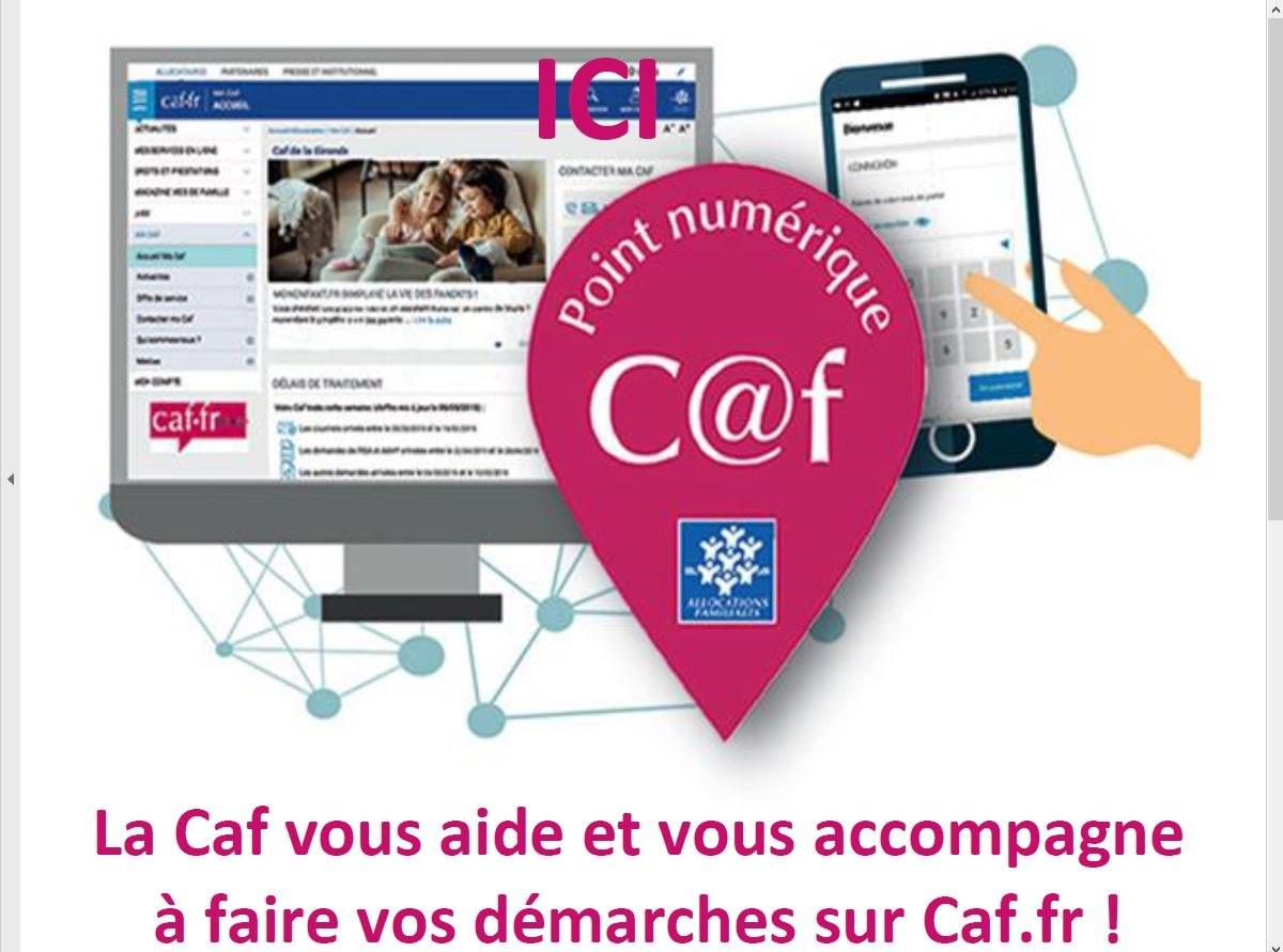 Point numérique CAF