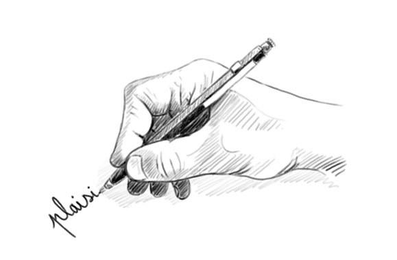 tenir-son-crayon-pour-dessiner-mine-proche-main-1