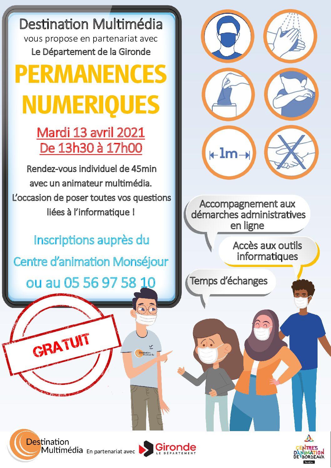 Affiche A4 CA Monséjour - avril 2021