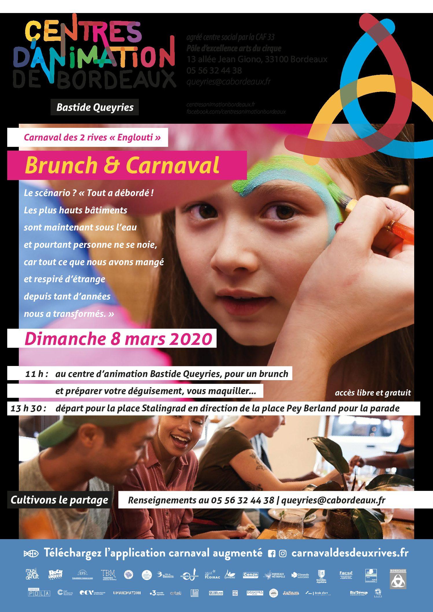 Adultes & Familles - Carnaval & Brunch - 080320
