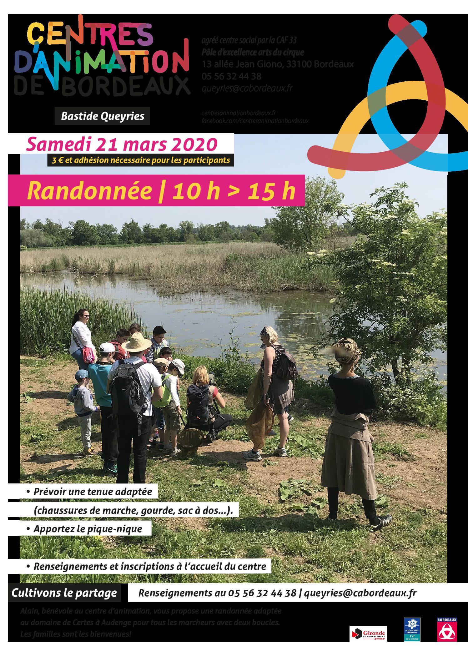 Adultes & Familles - Randonnée - Audenge - 210320