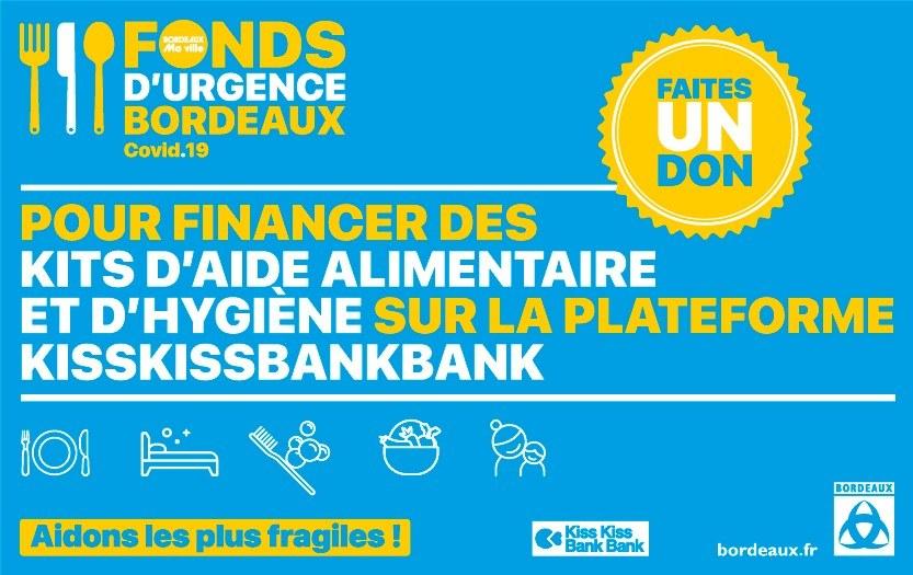 Fonds d'urgence Bordeaux Covid-19