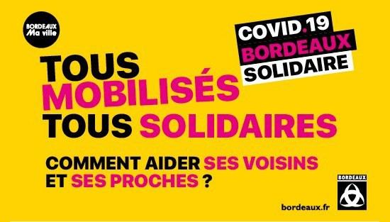 Tous mobilisés Tous solidaires